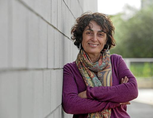 La gerente de Amadiba, Jane King, en las instalaciones de Periódico de Ibiza.