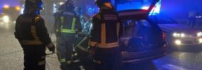 Un hombre muere tras un choque frontal con un vehículo que iba en sentido contrario