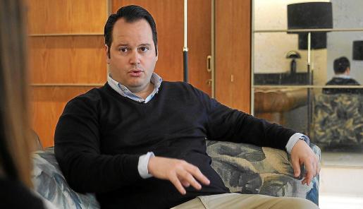 Iván Torres, en la Sociedad Cultural Ebusus.