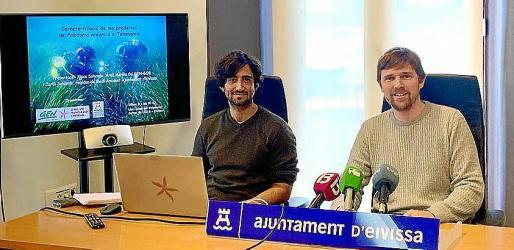 Desde la izquierda, Xisco Sobrado y Jordi Salewski.