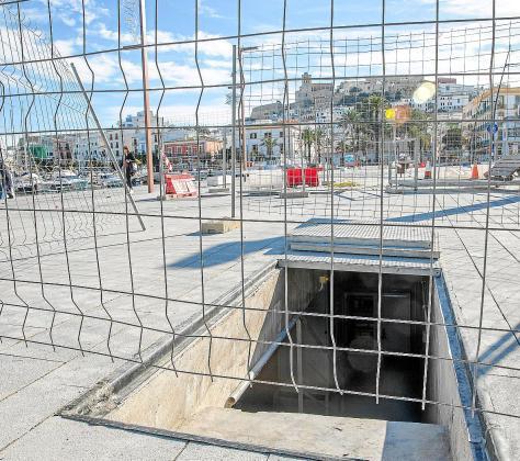 Los trabajos de construcción del tanque de tormentas empezaron en noviembre de 2017 con un presupuesto de 6,4 millones cofinanciados por fondos europeos.