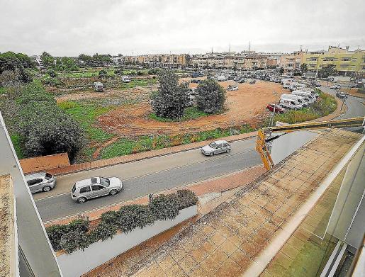 Imagen del solar donde está proyectado el nuevo instituto.