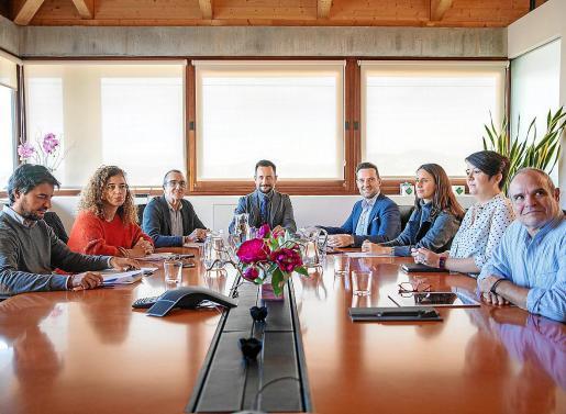 El Consell de Capitalidad celebró ayer su segunda reunión.