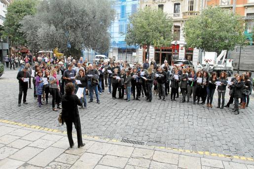Los funcionarios de todas las administraciones realizaron numerosas protestas durante la legislatura de José Ramón Bauzá en contra de los recortes que se promovieron desde el Gobierno central.