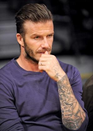 El futbolista inglés David Beckham, en una imagen de archivo.