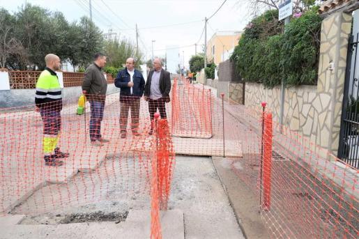Las obras conectarán los depósitos de sa Serra y ses Païsses y renovarán la red de distribución de agua potable