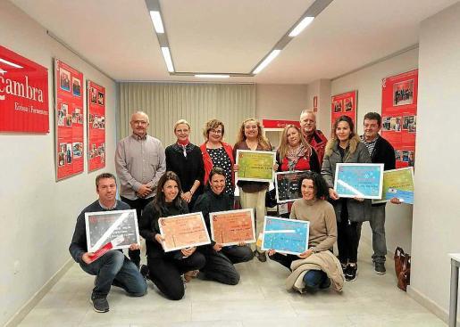 La entrega de premios se hizo ayer en la sede de la Cámara de Comercio de Ibiza y Formentera.