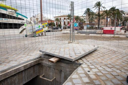 Zona en la que se encuentra el tanque de tormentas para lograr que no se produzcan vertidos de aguas fecales al mar.