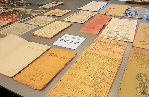El Arxiu Històric d'Eivissa presentó sus últimas adquisiciones, restauraciones y donaciones.