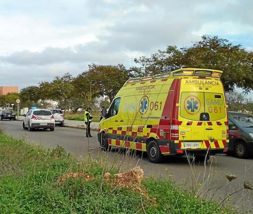 El pequeño fue evacuado por una ambulancia del 061.