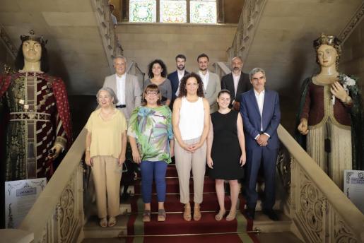 El equipo de gobierno del Consell de Mallorca tras tomar posesión.
