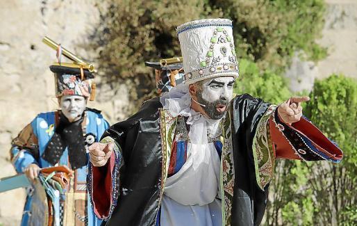 Ses Voltes acoge un año más la representación de 'L'Adoració dels tres reis d'Orient'.
