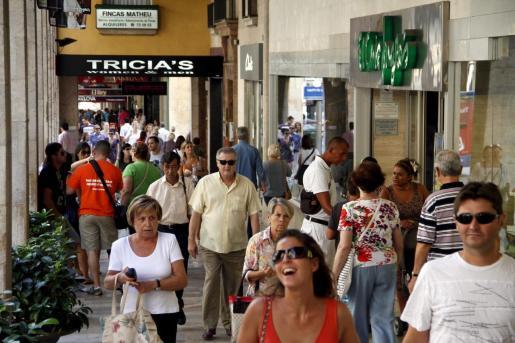 Palma registraba a 1 de enero de 2019 una población de 416.065 habitantes