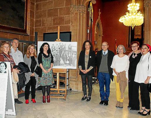 Maribel Mañez, Miquel Tortella, Rosa Cursach, Isabel Castro, Catalina Cladera, David Ginard, Teresa Suárez, María Durán y María Jesús Balaguer.
