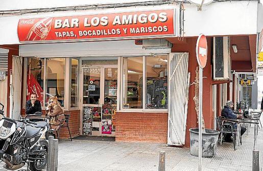 El bar Los Amigos.