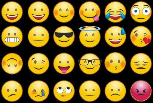 Colección de emoticonos.