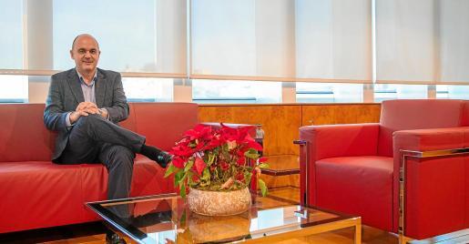 Vicent Marí, presidente del Consell d'Eivissa.