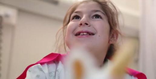 Lucía espera un donante de médula compatible