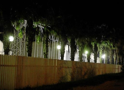 Iluminación del Recinto Feria de Ibiza.