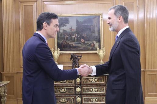 El Rey tras prometer Sánchez como presidente: «Ha sido rápido, simple y sin dolor. El dolor vendrá después».