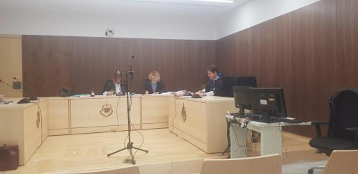 El juicio se celebró ayer en la sala de vistas de lo Penal de los juzgados de sa Graduada.