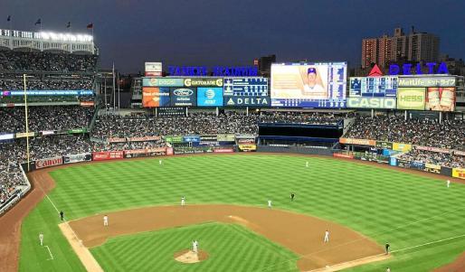 Estadio del equipo de los New York Yankees de béisbol, con el que Palladium pretende cerrar otro acuerdo de patrocinio.