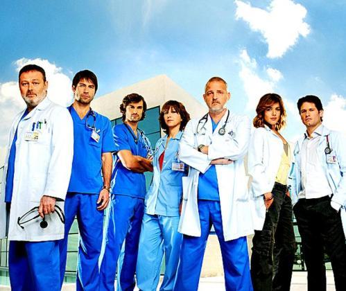 Parte del reparto de la anterior temporada de la serie.