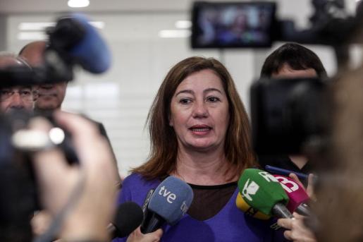La presidenta del Govern afirma seguir el caso con preocupación.