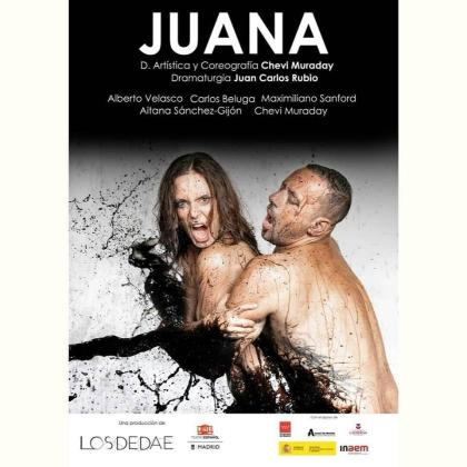 Cartel de la obra de teatro y danza 'Juana'.