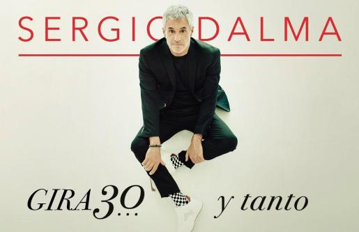 Sergio Dalma acerca su gira '30... y tanto' al Auditórium de Palma.