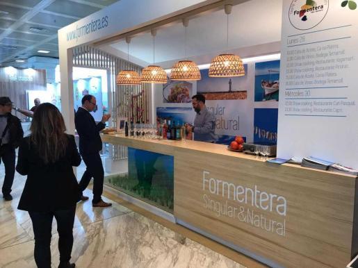Imagen del stand de Formentera en 'Madrid Fusión' en Ifema.