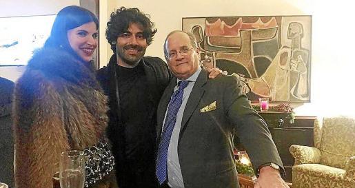 Inma Alomar , Paco Colombás y Nacho Deyá.
