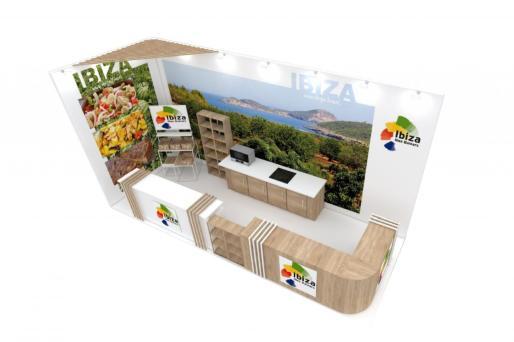 Estand de Ibiza en Madrid Fusión.