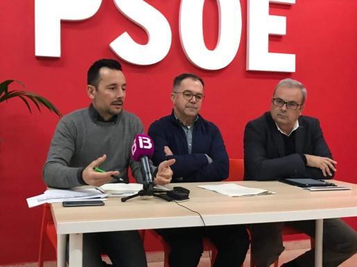 Imagen de la rueda de prensa en la FSE.