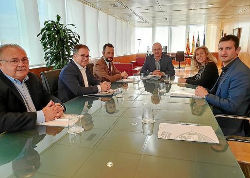 El martes se celebró el primer Consell d'Alcaldes del año.