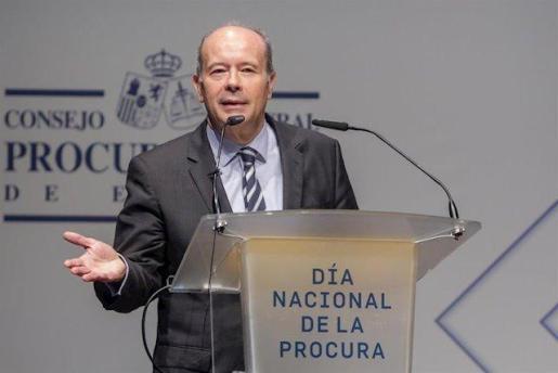 El galardonado, ex secretario de Estado de Justicia y diputado por el PSOE en el Congreso de los Diputados, Juan Carlos Campo Moreno.