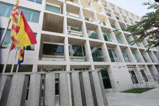 Fachada del Consell de Ibiza