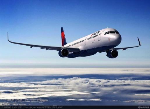 Avión A321 de Delta - AIRBUS GROUP - Archivo