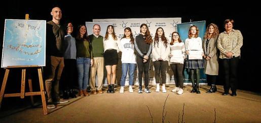 Los ganadores del XIII Neus Balanzat.