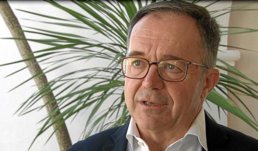 Josep Marí Ribas 'Agustinet', ayer, durante las declaraciones a Televisió d'Eivissa i Formentera.