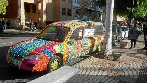 Un coche fúnebre con mucho 'flow'.