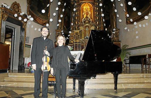 José Manuel Álvarez Losada e Isabel Félix.