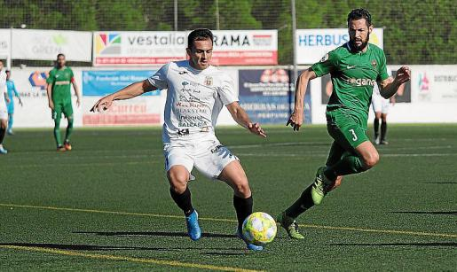 Pepe Bernal, durante un partido de esta temporada.