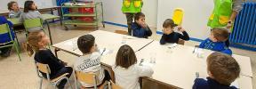 El colegio de Sant Jordi recupera el comedor después de 20 años