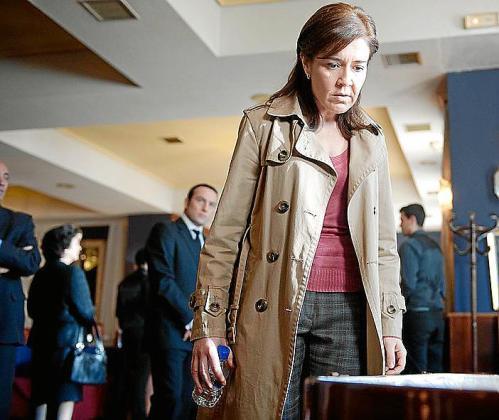 María Pujalte da vida a la inspectora Laura Lebrel.