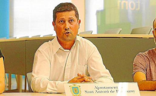 José Ramón Martín durante una rueda de prensa.