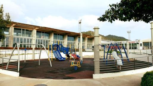 Parque infantil de Can Coix.