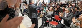 'Agustinet' promete «dedicación» tras asumir la secretaría general del PSOE en Ibiza