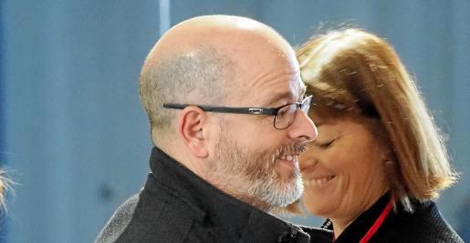 Alfonso Molina asistió el sábado al Congreso del PSOE en Ibiza.