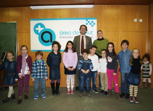 Ignacio Casas, en 2014 en un acto público como gerente del Área de Salud de Ibiza y Formentera